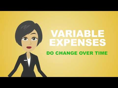 3 Main Categories of Expenses in a Household