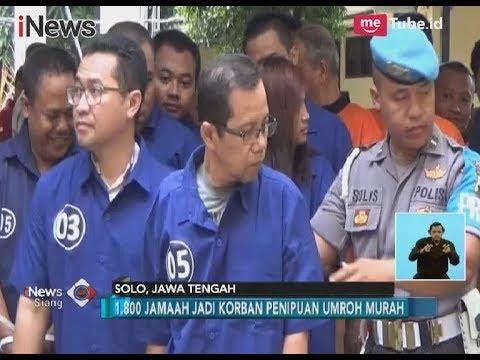 Merugikan Korban Hingga Rp 37,8 Milyar, 2 Pelaku Penipuan Travel Umroh Ditangkap - iNews Siang 30/12 Mp3