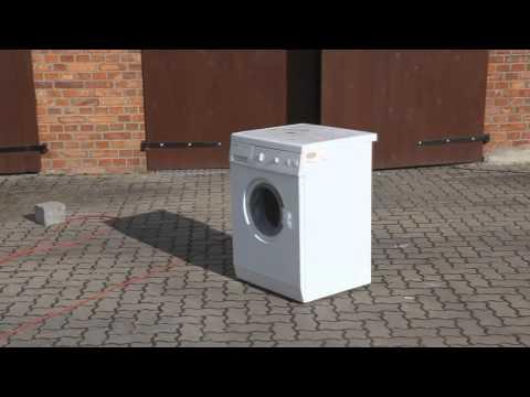 washing machine self destruct