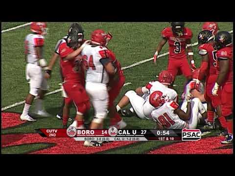 Highlights of Cal U vs. Edinboro (Sept. 22, 2018)