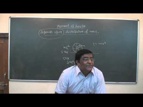 XI_62.Rotational motion, Moment of Inertia