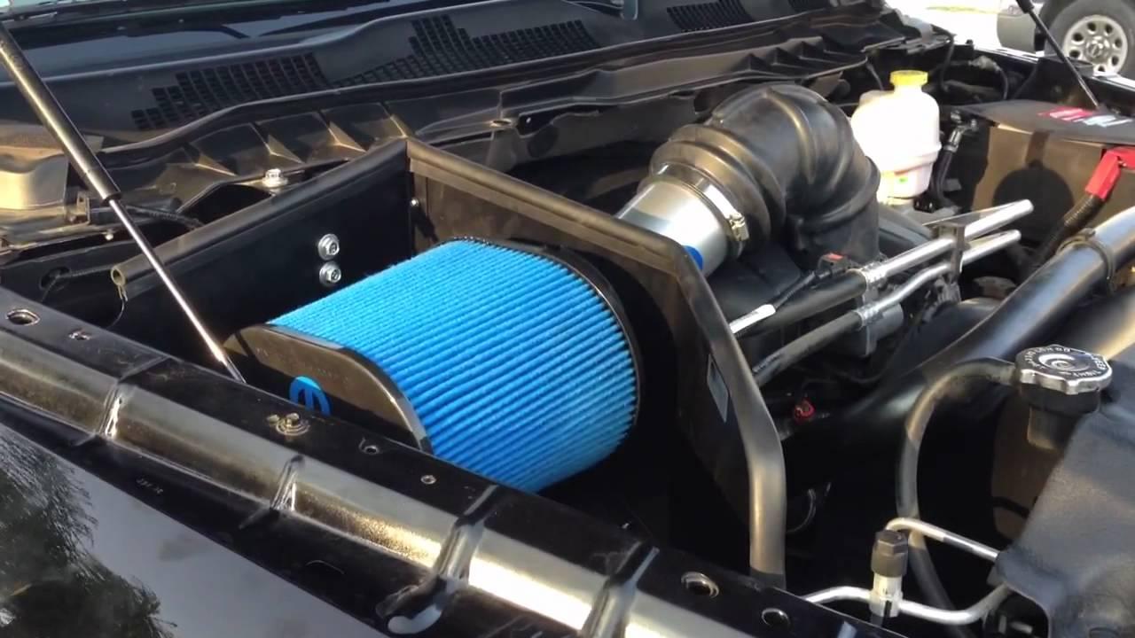 Mopar Cold Air Intake Sound Youtube