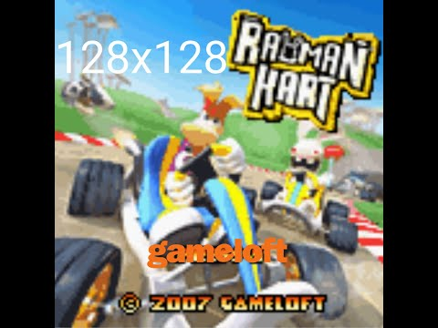 Download Rayman Kart | 128x128 | Java Game | 2007 | Gameloft By: GamesSky