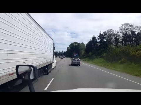BigRigTravels LIVE! - Salem, Oregon to Puyallup, Washington - Interstate 5 - May 8, 2017