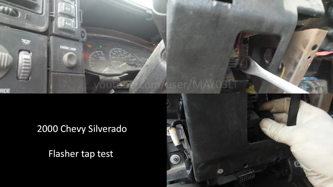 1993 chevy 1500 fuse box diagram 1993 chevy silverado fuse box 2000 silverado turn signal flasher tap test youtube