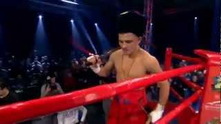Вихід Берінчика на боксерський бій