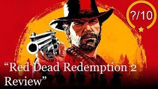 Red Dead Redemption 2 Review [PS4 & Xbox One]