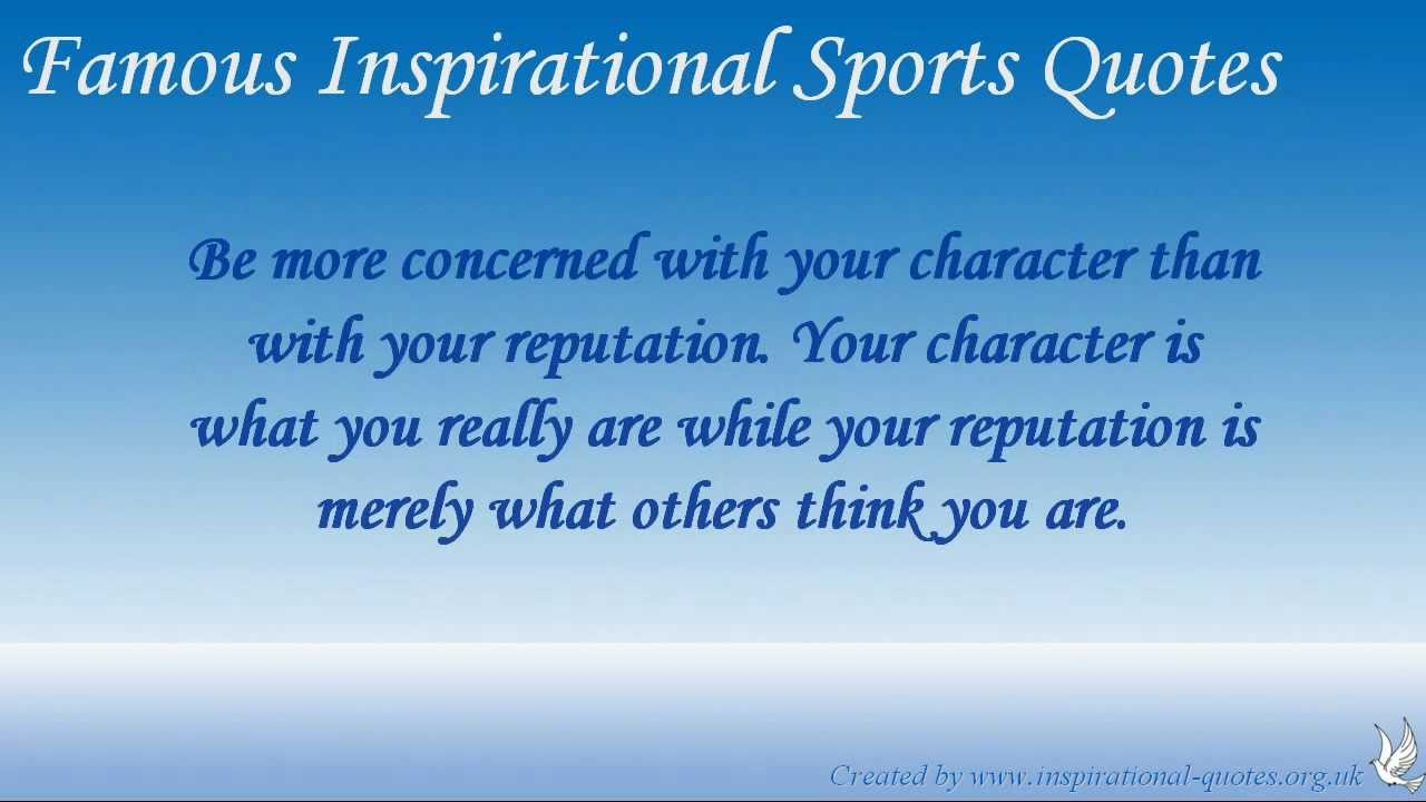 famous inspirational sports quotes youtube