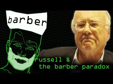 Barber & Russell Paradoxes (History of Undecidability Part 2) - Computerphile