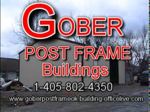Gober Post Frame - YouTube