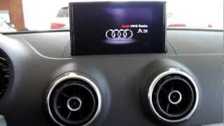 Audi A3 2013 Multimedia Interface MMi Display