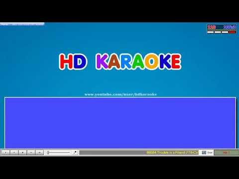 HD Karaoke - Trouble Is A Friend Lenka