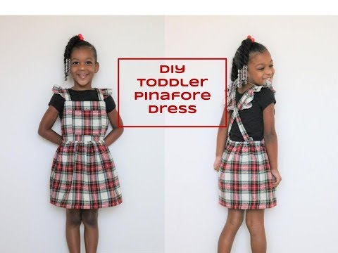 Toddler Pinafore Dress
