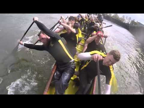 British dragon boat teams get controversial in 2000m race filmed on head cam