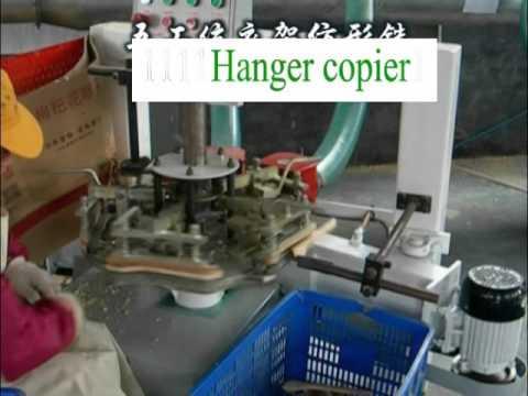 wood hanger production line