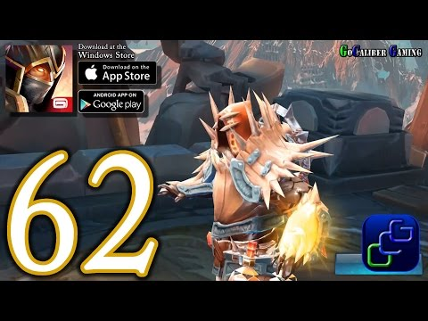 Dungeon Hunter 5 Android IOS Walkthrough - Part 62 - Northern Storm Final Boss Bounty 52-54 (HARD)