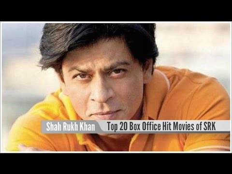 Top 20 Best Shah Rukh Khan Super Hit Movies List - YouTube
