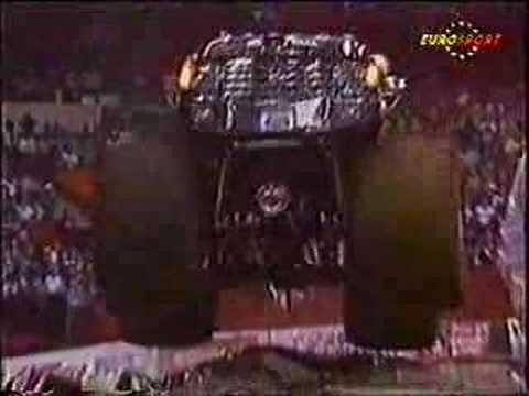 USHRA Monster Truck Racing Pittsburgh Civic Arena 3/4