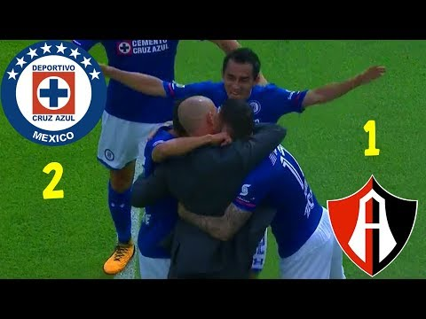 Cruz Azul (2) - (1) Atlas   Jornada 5   Apertura 2017   Liga Mx   Resumen Completo