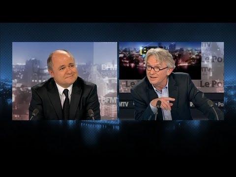 BFM Politique : Bruno Le Roux face à Jean-Claude Mailly - 03/02