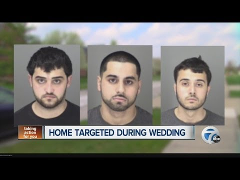 Sterling Heights home targeted during wedding