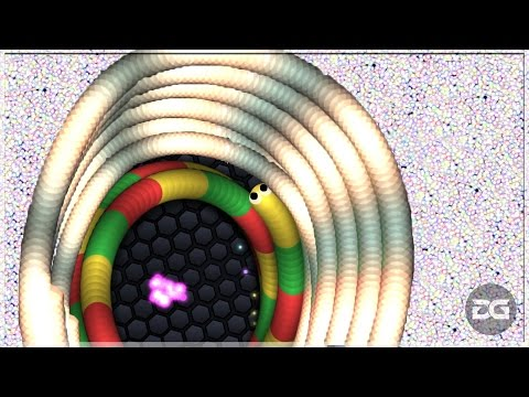 Slither.io EPIC Circle Trolling Longest Snake And Funny Moments