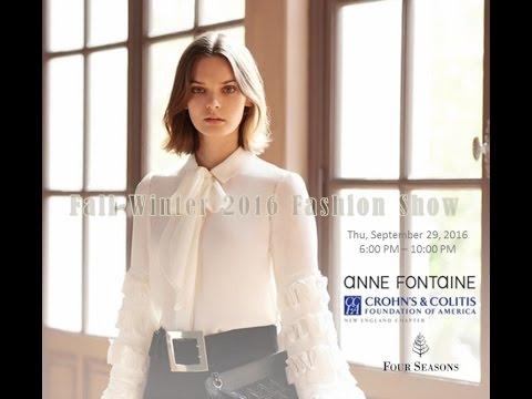 Anne Fontaine – Boston Fashion Week 2016
