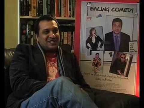 Kulvinder Ghir interview about Ealing Comedy - new film