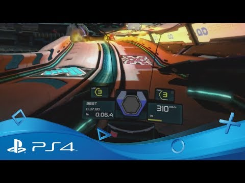 WipEout Omega Collection | VR Trailer | PlayStation VR