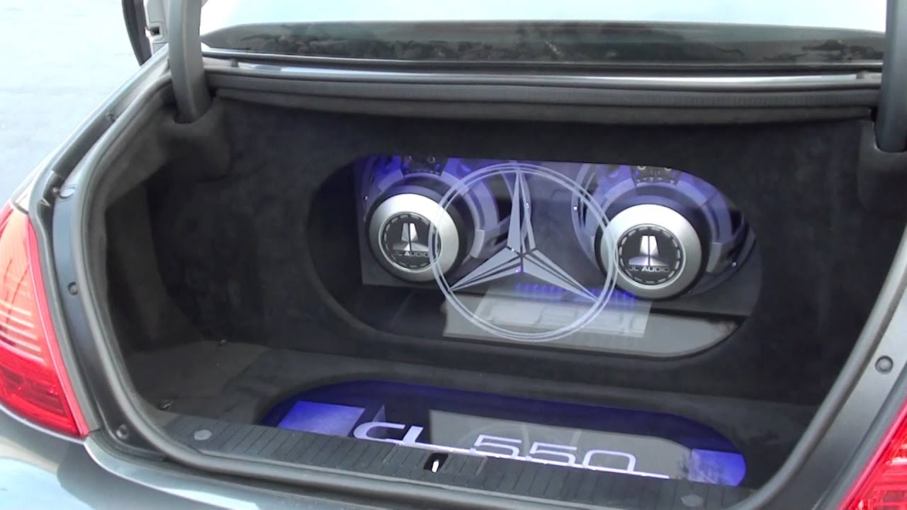 2008 Mercedes Cl550 Outfitted W Jl Audio 12w6v2 D4 Amp A Jl