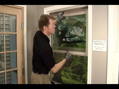 How To Properly Remove Single Hung Window Sash Youtube