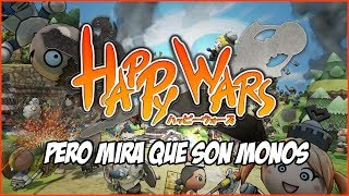 """¡Pero mira que son Monos!"" - Happy Wars - BETA Test"