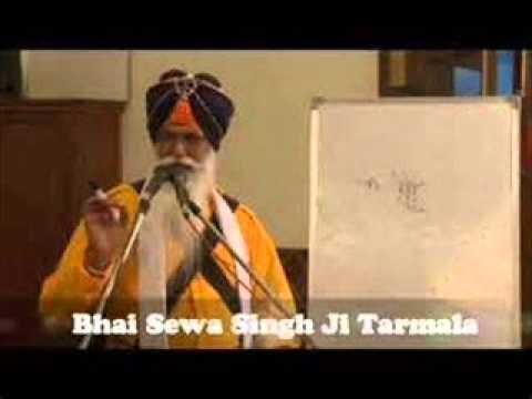 Simran with Bhai Sewa Singh Ji Tarmala