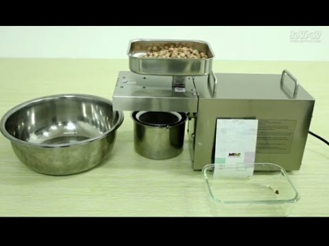 Automatic Oil Press for Home Use