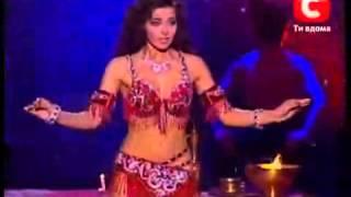 Алла Кушнир - восточный танец.avi