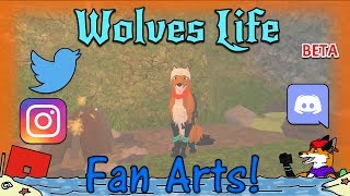 ROBLOX - Wolves' Life v2 Beta - Fan Arts! #34 - HD