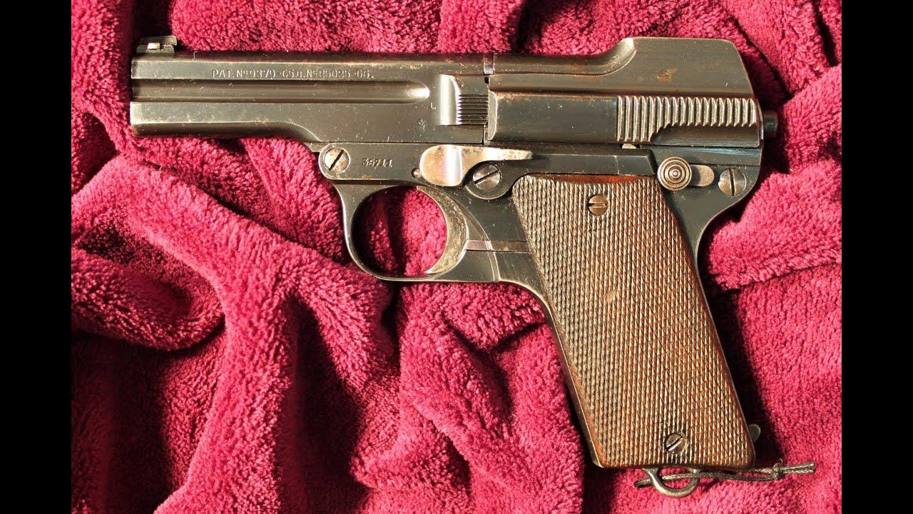 Just Fieldstrip - #068 - Steyr-Pieper Model 1909/34