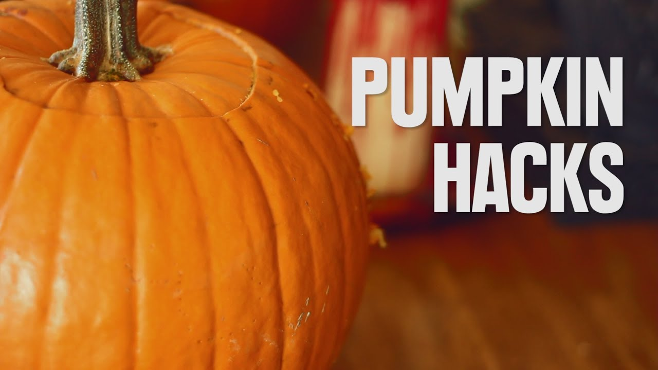 clever pumpkin carving hacks you should know youtube - Funny Halloween Pumpkin Carvings