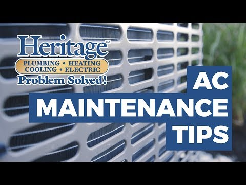 AC Maintenance Tips for Homeowners