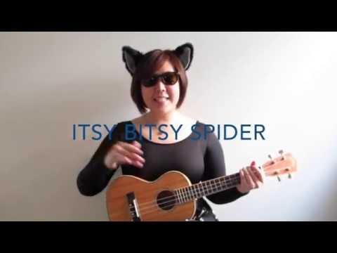 Itsy Bitsy Spider Ukulele Sing-Along