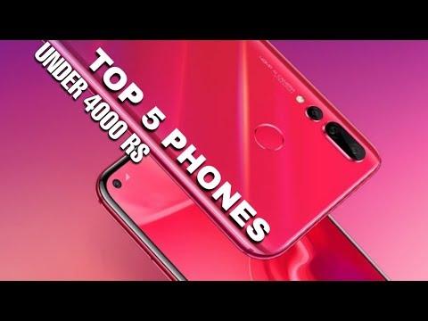 Top 5 Smartphones Under 4000 Rupees