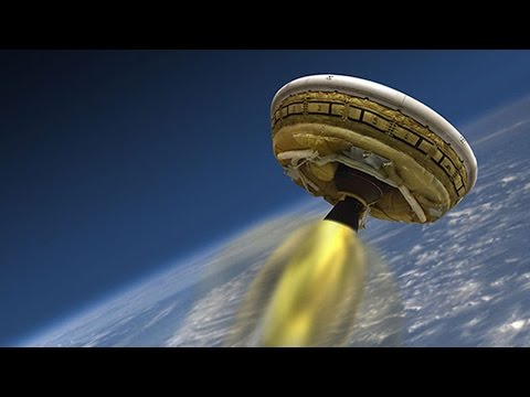 NASA To Test A Real Life Flying Saucer