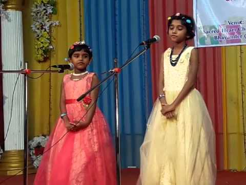 No more war No more hunger       Christmas is the time to love   Song by Kripa & Helena