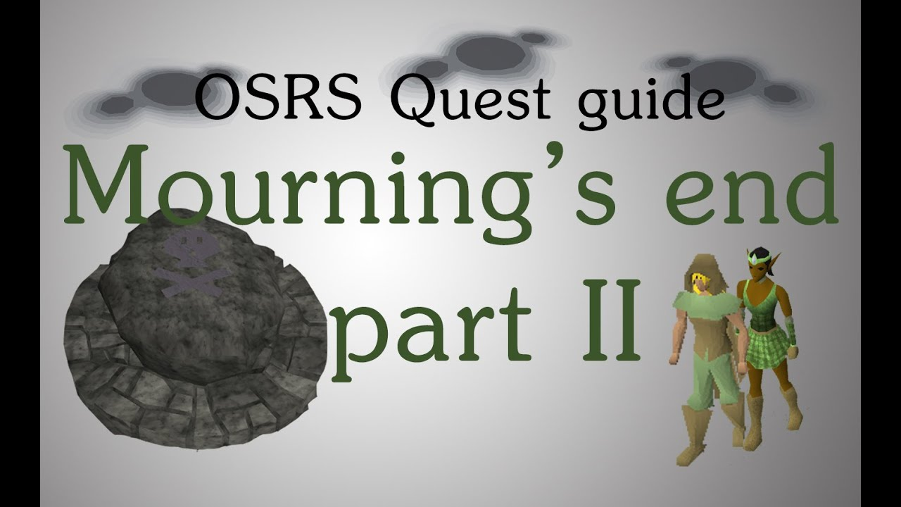 White apron osrs -  Osrs Mourning S End Part 2 Quest Guide