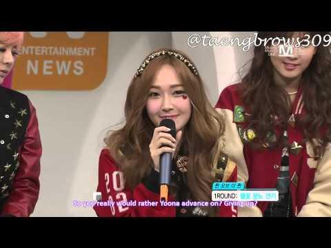 [ENG SUB] 130103 SNSD - Queen of the Queen @ Mnet Wide Studio (1/2)