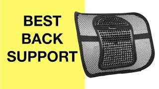 Video Amazing Facts for BEST Back Support For Office Chair & Car (LUMBAR SUPPORT PILLOW LOW BACK PAIN) download MP3, 3GP, MP4, WEBM, AVI, FLV Agustus 2018