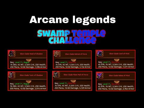 Arcane Legends Swamp Temple Event Preview ( Forum )