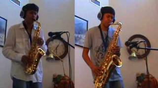 Beyoncé  - Halo - Alto and Tenor Saxophone Duet by charlez360