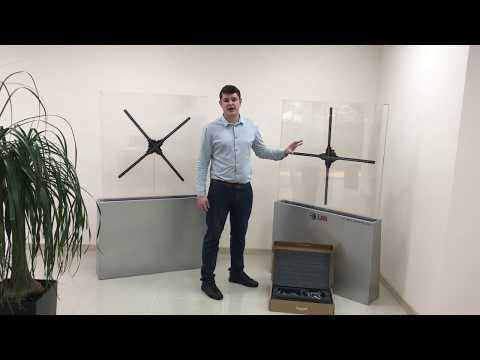 Обзор, распаковка и сборка голографического вентилятора Dsee.lab 100s