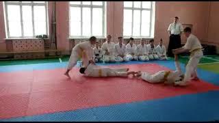 #3 Открытый урок Айкидо. Демонстрация различных техник | 合気道 | Aikido
